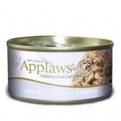 Applaws - Alimento fresco en latas Presentación Filete de Atún y Queso