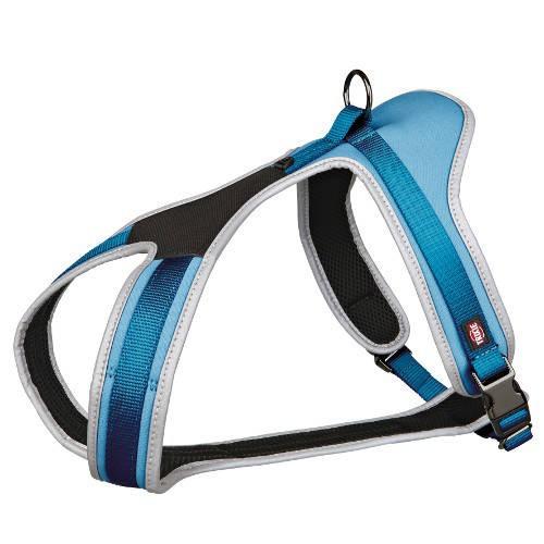 Arnés para perros Trixie Noruego Confort Experience color azul