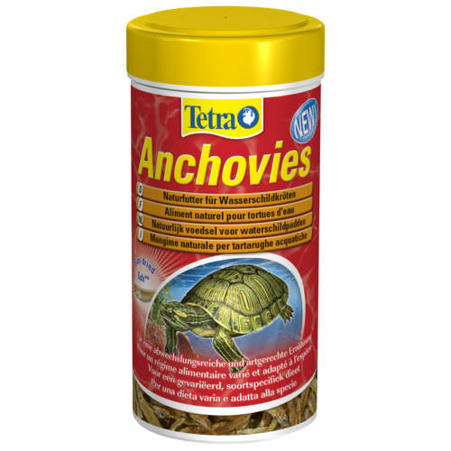 Comida para tortugas Tetra Anchovies