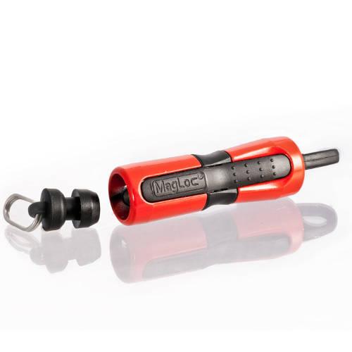 Collar magnético para perros Canny Magloc Color Rojo