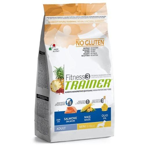 Trainer Fitness 3 Mini with Fish and Maize pienso para perros con pescado