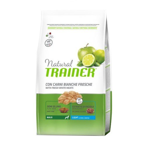 Natural Trainer Light Maxi con carne blanca