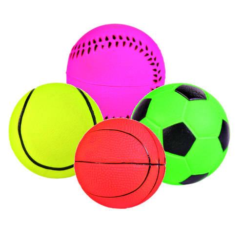 Juguete para perros Trixie pelota fluorescente flotante