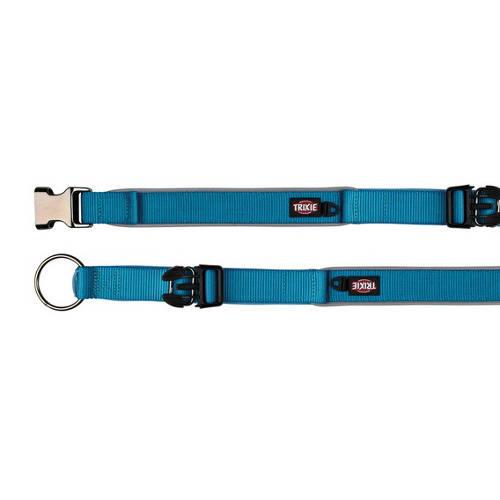 Collar para perros Trixie Experience Extra Ancho color azul