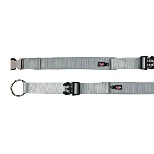 Trixie Experience  Extra Wide Dog collar Silver