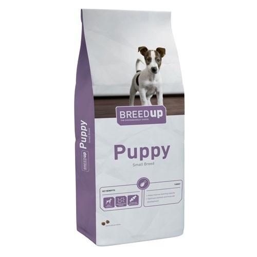 Pienso súperpremium Breed Up Puppy para cachorros de razas medianas y pequeñas
