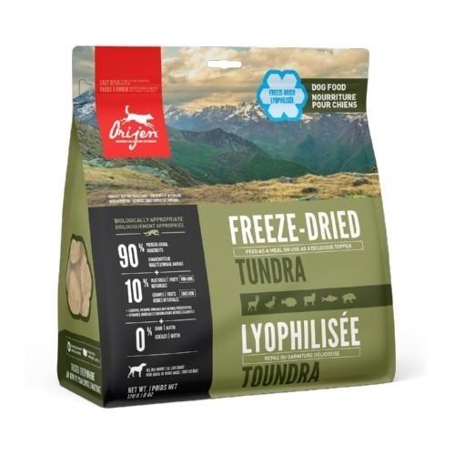 Orijen Freeze-Dried Tundra comida deshidratada para perros