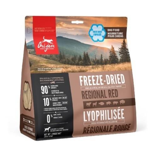 Orijen Freeze-Dried Regional Red comida liofilizada para perros