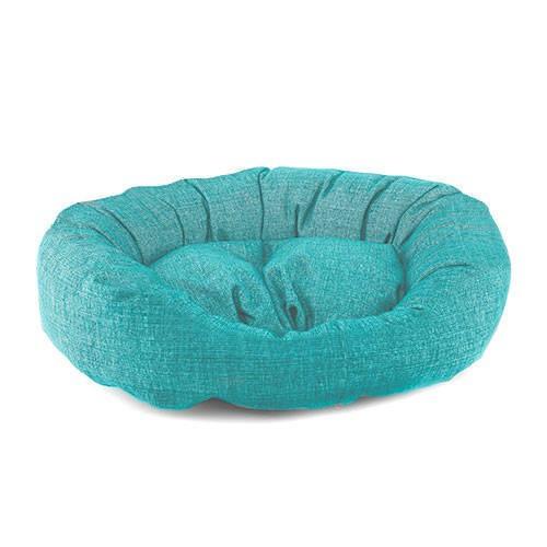 93a2d1b7914 Cama para perros TK-Pet Iris tipo donut color turquesa deluxe ...