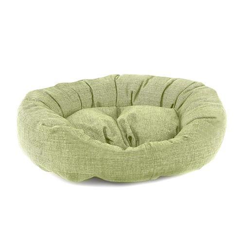 Cama para perros TK-Pet Iris tipo donut color verde deluxe