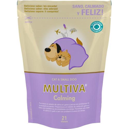 Suplemento nutricional antiestrés Multiva Calming gatos y perros pequeños