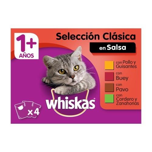 Comida húmeda para gatos Whiskas multipack selección de carnes