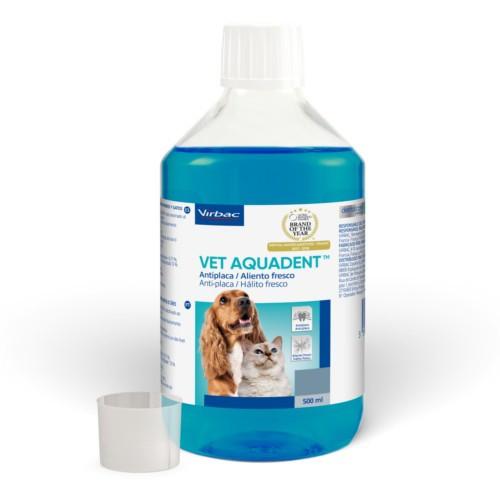 Enjuague bucal para perros y gatos Vet Aquadent