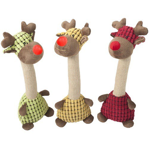 Juguete para perros Nayeco peluche jirafa Jenny