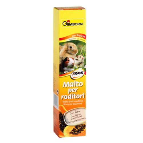 Malta para roedores GimBorn con papaya