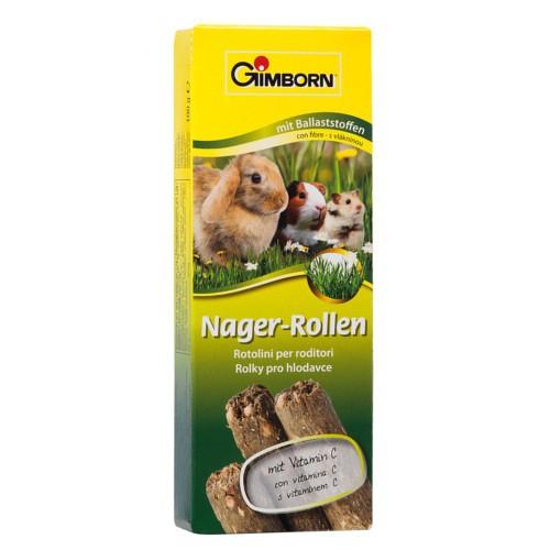 Snacks para roedores GimBorn Rollitos de fibra