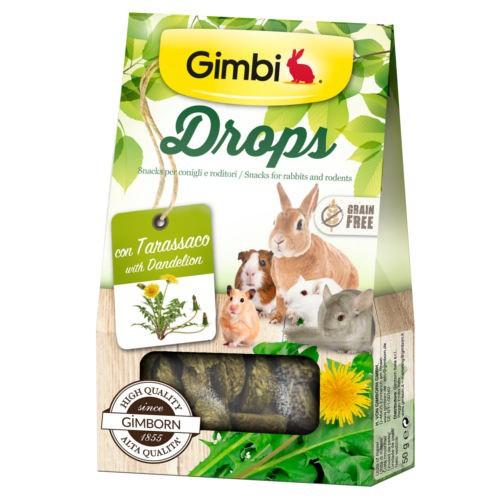 Snacks para roedores GimBi Drops Diente de león