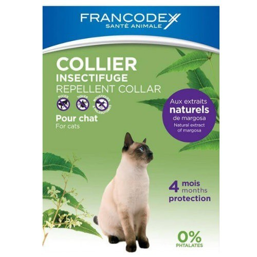 Collar antiparasitario natural para gatos Francodex