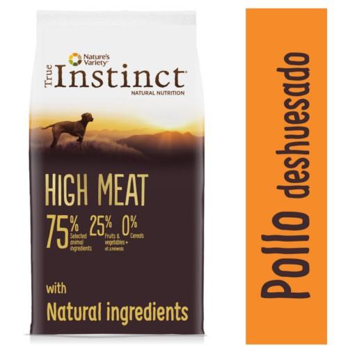 Pienso para perros adultos True Instinct High Meat Medium - Maxi