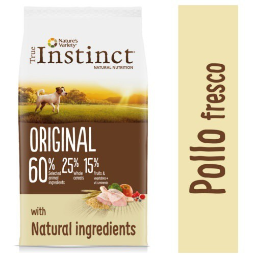 Pienso para perros mini True Instinct Original Mini con pollo
