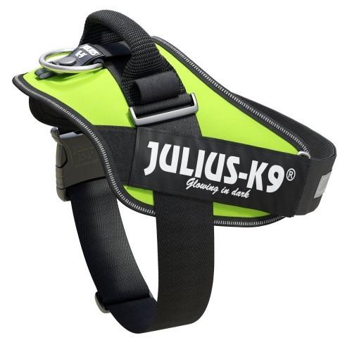 Arnés ergonómico Julius K9 IDC neón