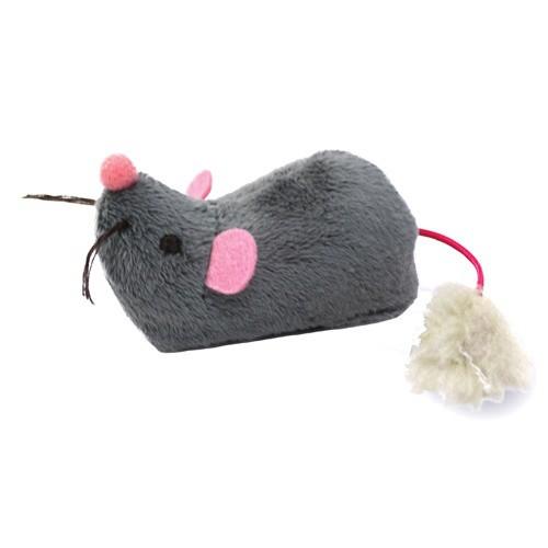 Ratón electrónico que corre para gatos