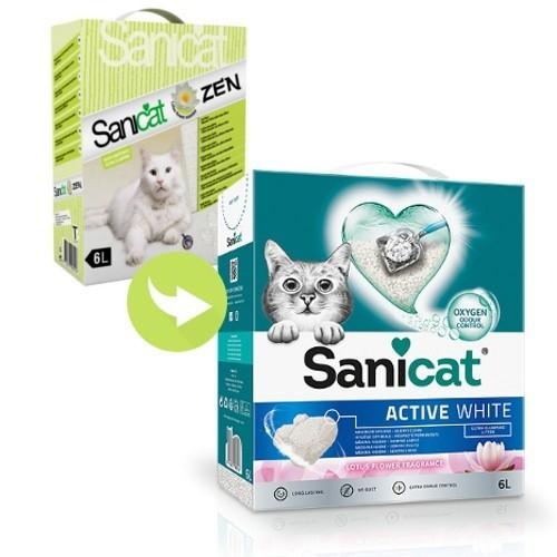 Sanicat Zen arena aglomerante efecto relax para gatos