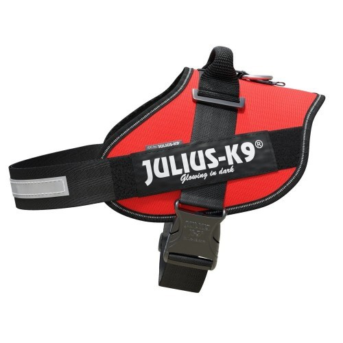 Arnés ergonómico Julius K9 IDC rojo