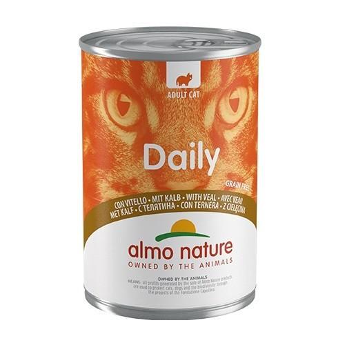 Comida húmeda con ternera Almo Nature Daily Menu