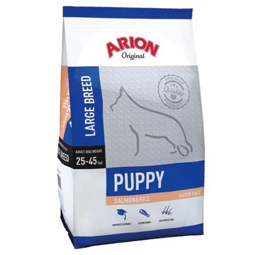 Pienso Arion Original de salmón y arroz para cachorros grandes