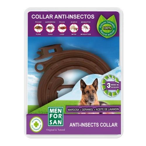 Menforsan collar anti insectos para perros