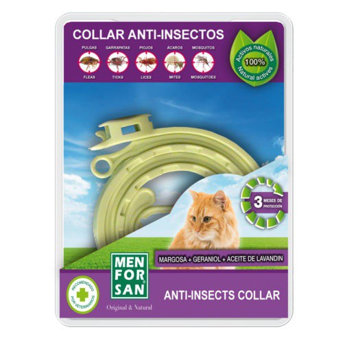 Menforsan collar anti insectos para gatos