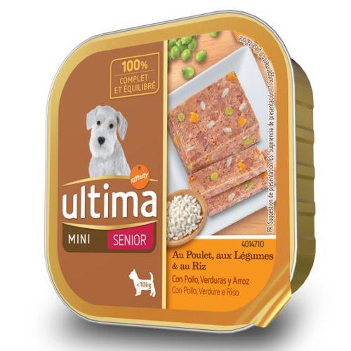 Affinity Ultima Senior Spécial Mini comida húmeda con pollo