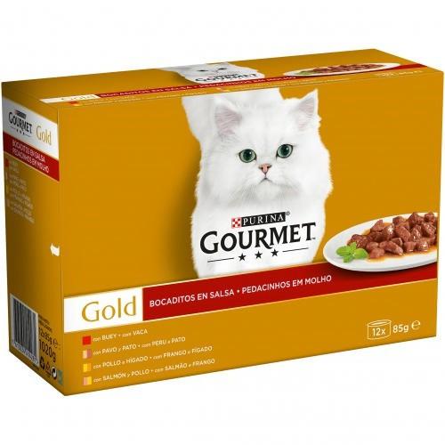 Pack Gourmet Gold surtido de bocaditos en salsa