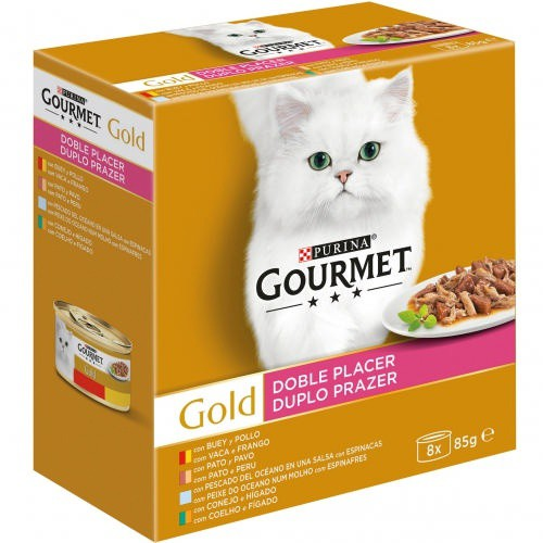 Pack Gourmet Gold Doble Placer surtido
