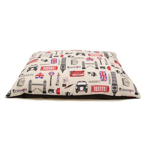 Cama colchón estampado London TK-Pet