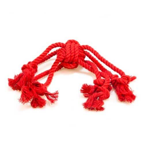 Juguete de varias cuerdas TK-Pet Octopus