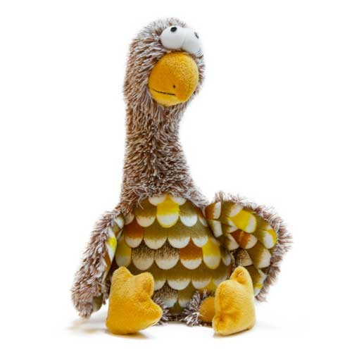 Juguete aguilucho marrón de peluche TK-Pet Paul