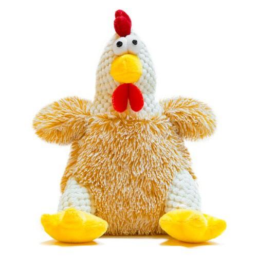 Juguete gallina beige de peluche TK-Pet Patti