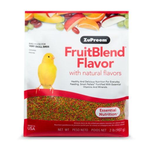 Pienso Zupreem FruitBlend para pájaros muy pequeños