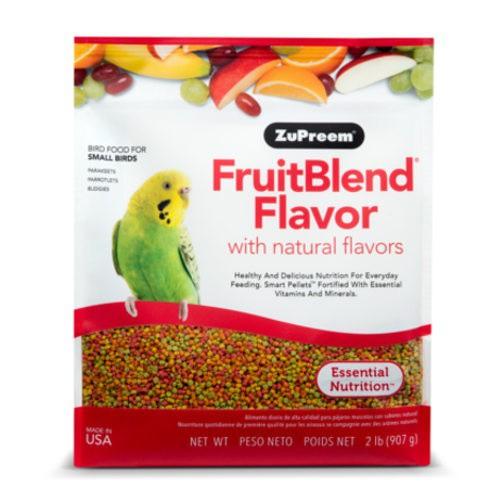 Pienso Zupreem FruitBlend para periquitos y agapornis