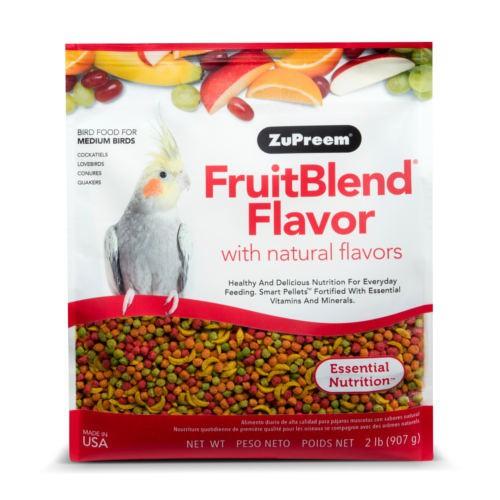 Pienso Zupreem FruitBlend para ninfas y cotorras