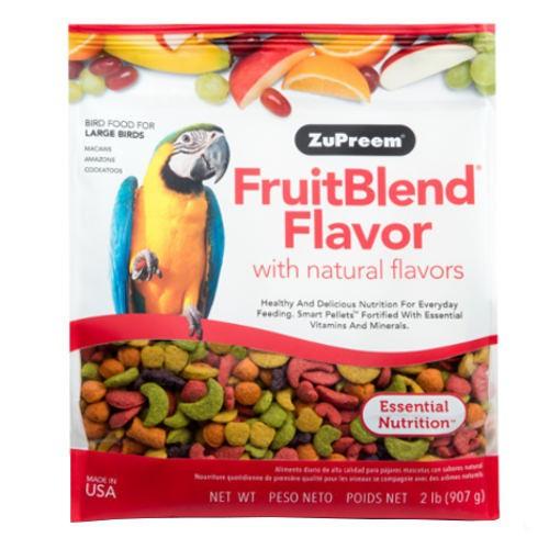 Pienso Zupreem FruitBlend para loros grandes