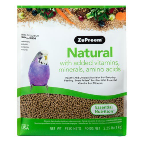 Food Zupreem Natural for small birds