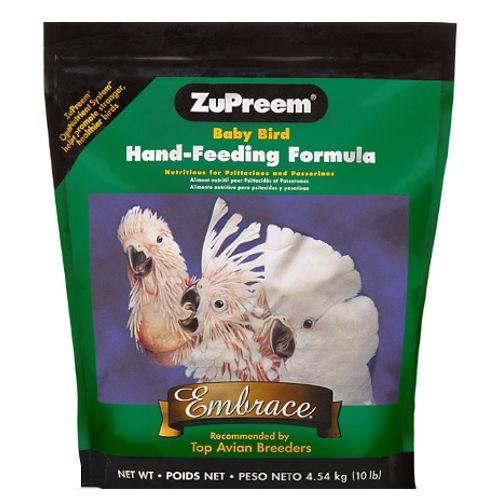 Papilla Zupreem para crías de todo tipo de aves