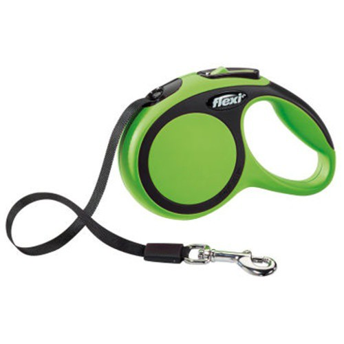 Flexi New Comfort correa extensible de cinta verde