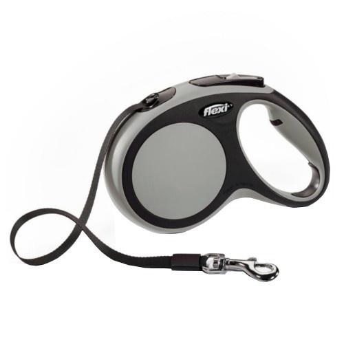 Flexi New Comfort correa extensible de cinta gris