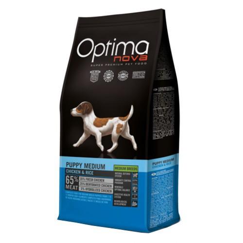 Pienso Optima Nova Puppy Medium para cachorros