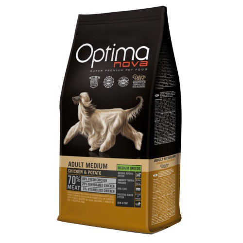 Pienso Optima Nova Adult Medium Grain Free