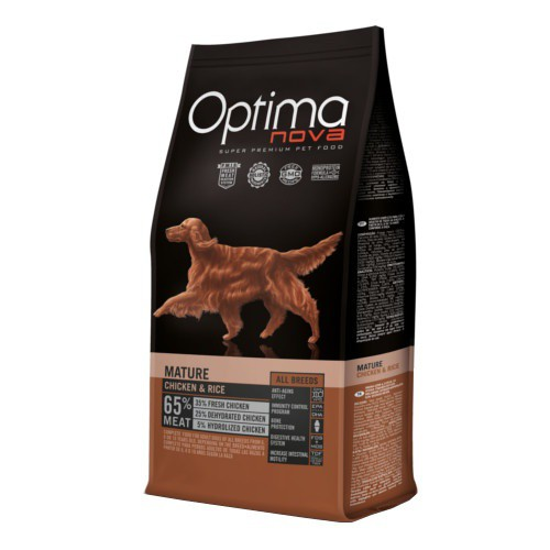 Pienso Optima Nova Adult Mature perros senior